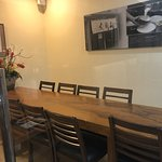 private function rooms for 10 pax