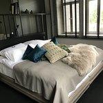 Cozy, comfy bed