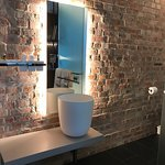 Super modern bathroom