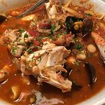 Truly fantastic seafood cioppino