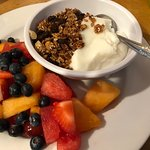 Granola, Yogurt and Fruit Breakfast
