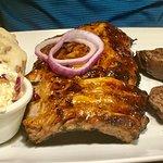 Rib & steak combo
