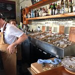 Selection of Oysters at the Ice House