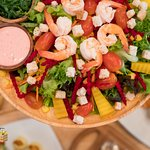 Customized Salad : more than 50 topping which you can choose