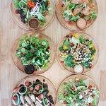 Customized Salad concept