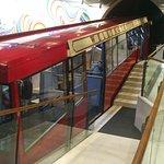 Exerior shot of the funicular.