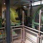 Machinery exhibit.