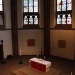 Main altar from the north galllery, Dreikonigskirche