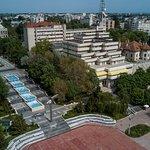 Hotel Belvedere Braila - Aerial outdoor view