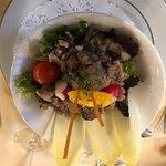 salade foie de volaille