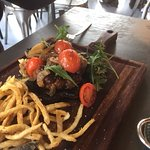 Burger with 2 cherry tomatoes- R15.00!!
