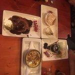 desserts, dont le Tartuffo di Pizzo !!