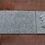 Memorial plaque to John F Kennedy, Paulskirche