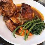 Pork belly Sunday dinner