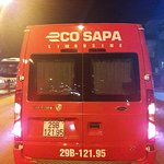 Eco SaPa Bus, that desiced half an hour before arrive NOT to bring us the agreed place