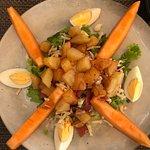 Salade du jour au melon