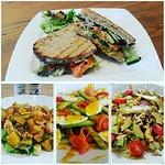 toasties,salads