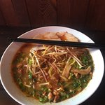 Miso ramen. It looked better before I started to eat :)