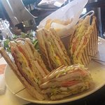 sandwich (for 3) :) at Cafe Metropole