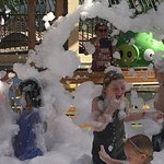 Foam parties Every Day in July & August 2018