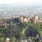 Alhambra from the top of Sacromonte