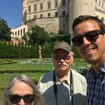 A stop in Mikulov with our Daytrip driver, Ladislav.