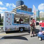 Vendors on Canada Day