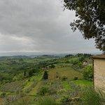 Return from San Gimignano