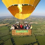 Our magical morning flying over Trim, County Meath
