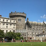 Dublin Castle one of the tour stops