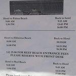 Расписание для FALCON HIILS