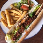 Sweet Chilli Chicken Baguette