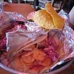 Sauteed Shrimp Taco