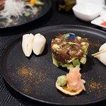 Tuna Tartare with steamed Bao