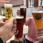 of course, German bier!