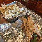 Gringo Taco and Jalapeno Apple Slaw