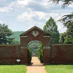 Gate to the flower gardens