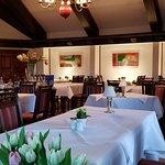 Restaurant inside tables