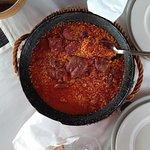 Restaurante Las Carbajalas - Arroz meloso con manita de Cerdo y Botillo del Bierzo