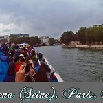 Bateaux Mouches, rio Sena, Paris, França