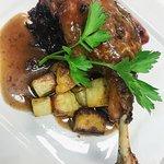 Confit Duck Leg from our dinner menu