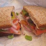 Ham Sandwich on Honey Wheat