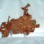 Pure Copper from the White Pine Mine, Ontonagon,MI