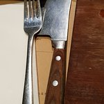 the 'cutlery'