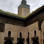 Minaret and interior