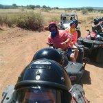 Atv in Sedona desert ..