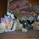Get your favorite Quartz crystal, Kona Dolomite,Moldavite,Jasper at Red Barn Rocks, Antiqu and B