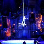 aerialists in performance