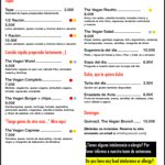Food menu for July