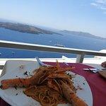 Crayfish Spaghetti and the caldera